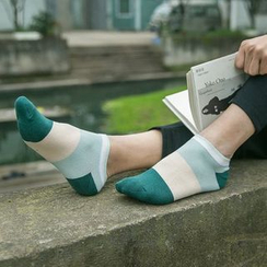 MUMBLE - Colour Block Low Socks