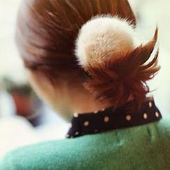 Azalea - Furry Hair Tie