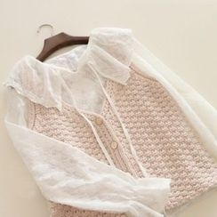 Jelly Cake - Chunky-Knit Vest
