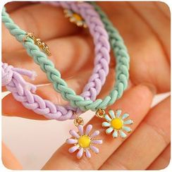 Fancy Mansion - Daisy Braided Hair Tie