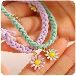 可愛屋 - 小菊花編織髮圈