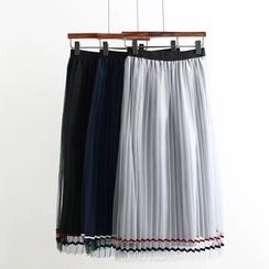 Angel Love - Pleated Maxi Skirt