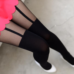 59 Seconds - Two-Tone Tights
