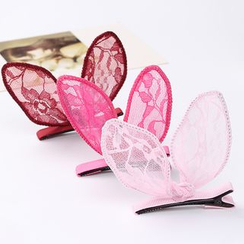 Persinette - Rabbit Ear Lace Hair Clip