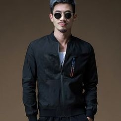 PROBOSCIS - Plain Zip Jacket