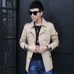 Bay Go Mall - Trench Jacket