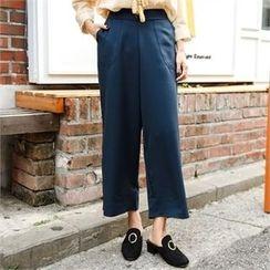 clicknme - Wide-Leg Pants