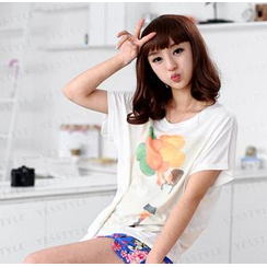 59 Seconds - Girl & Balloon Print T-Shirt