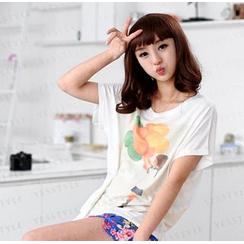 59 Seconds - Girl & Balloon Print T-Shirt