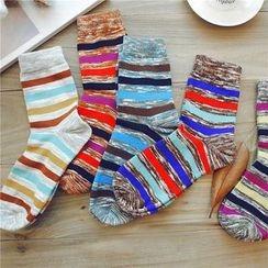 羅煞秀 - 條紋襪