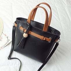 enoi - Faux Leather Tote
