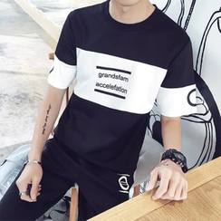 ZZP HOMME - Lettering T-Shirt