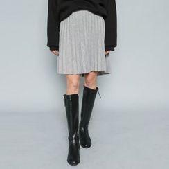 Envy Look - Mini Accordion Pleated Skirt