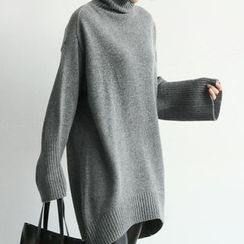NANING9 - Oversized Wool Blend Sweater
