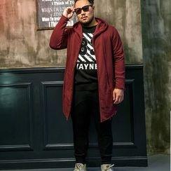 Wayne - 连帽长款夹克