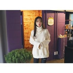 Envy Look - Turtle-Neck Oversized Pullover
