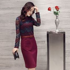 Romantica - 仿兩件連衣裙