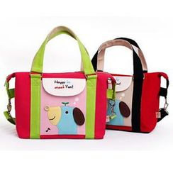Ladybug - Kids Animal Applique Cross Bag