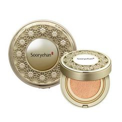 Sooryehan - Hyobidam Anti-Aging Cover Cushion SPF50+ PA+++ With Refill