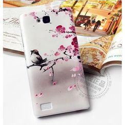 Kindtoy - Bird Print Huawei Honor 3C Case