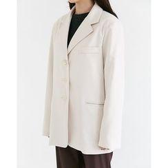 Someday, if - Single-Breasted Oversized Jacket