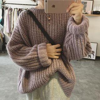 Windflower - Crewneck Boxy Sweater