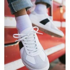 ABOKI - Faux-Leather Sneakers
