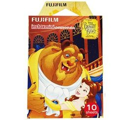 Fujifilm - Fujifilm Instax Mini Film (Beauty and the Beast) (10 Sheets per Pack)