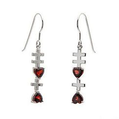 Bellini - Garnet 'Xixi' Earrings