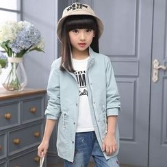 Pegasus - Kids Drawstring Long Jacket