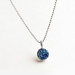 Nanazi Jewelry - Rhinestone Pendant Necklace