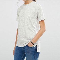 Richcoco - Plain Short-Sleeve T-shirt