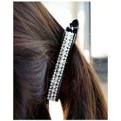 Miss21 Korea - Faux-Pearl Long Hair Clamp