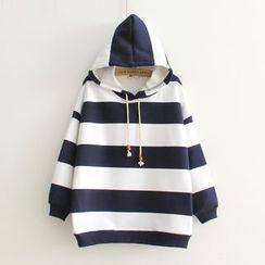 Angel Love - Striped Hoodie