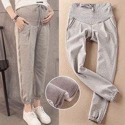 Dadada - Maternity Plain Jogger Pants