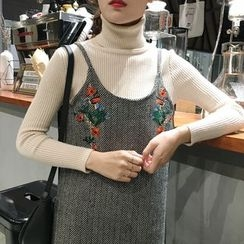 Anlay - Woolen Embroidered Slipdress