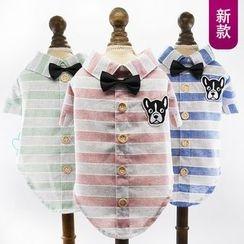 LASSIE - Striped Dog Clothe