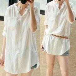 EFO - Loose-Fit Long Blouse