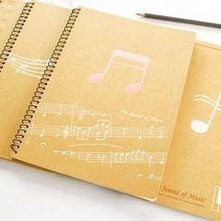 Cute Essentials - B5 Music Notebook