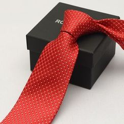 Romguest - Dotted Neck Tie (8cm)