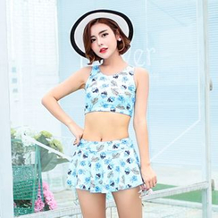 Anfory - Printed 2-piece Swimdress