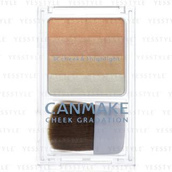 Canmake - Cheek Gradation (#02 Orange Stripe)