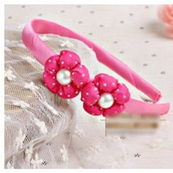 Chapa - Kids Rosette Beaded Hair Band