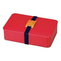 Hakoya - Hakoya American Vintage Men's Simple Lunch Box (Red)