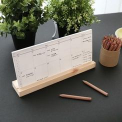 BABOSARANG - '2 WEEKS PLANNER' Desk Calendar (M)