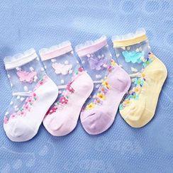 華娟 - 小童網紗襪