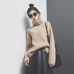 Sonne - High-Waist Knit Sweater