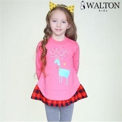 WALTON kids - Kids Cotton A-Line Top
