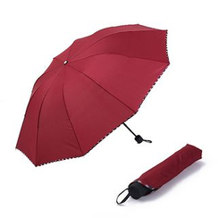Homy Bazaar - 饰边折伞