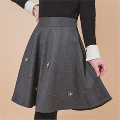 Styleberry - Embellished A-Line Skirt